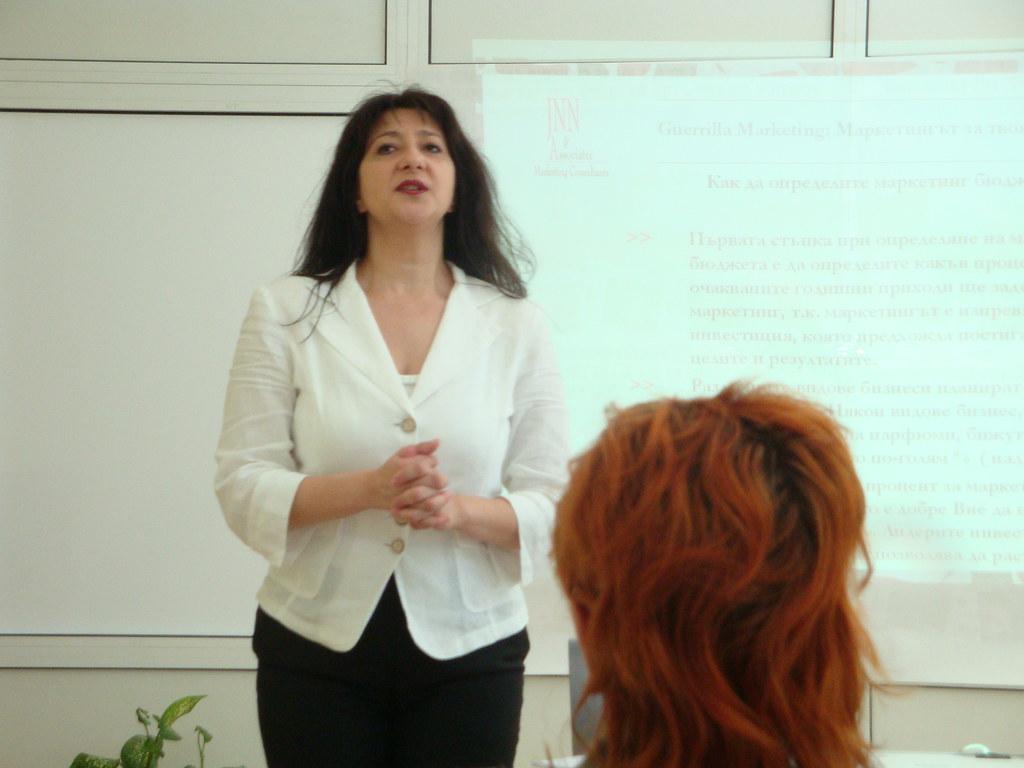 Guerrilla Marketing Training in Bourgas 301