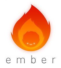 Ember logo ~ Full Colour (JamFactory) Tags: illustration digital scrapbook mac brighton character osx icon flame software online service ember realmac littlesnapper jfgraphics quicksnapper