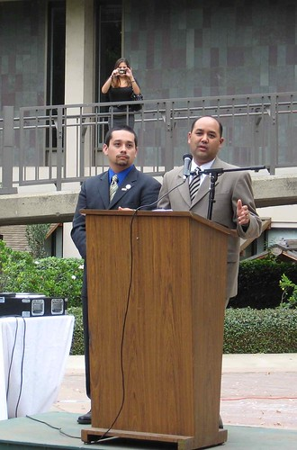 ASI president with Alberto Torrico
