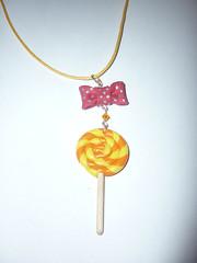 Lollipop orange