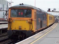 73204 London Bridge 140410 (Dan86401) Tags: bridge test london train ed power janice first rail class network dual nr 73 electrodiesel gbrf 73204