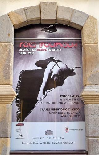 """INAUGURACION EXPOSICION FOTOGRAFICA """"25 AÑOS DE DANZA ROSA FOUNAUD"""