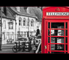 Red Call (JLM Photography.) Tags: red call phone telephone phonebox marketdeeping flickrchallengegroup flickrchallengewinner