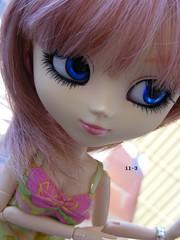 manami (Elisabet Threepwood (so busy)) Tags: blue angel eyes gate doll barbie planning wig ag groove pullip jun manami obitsu rewig