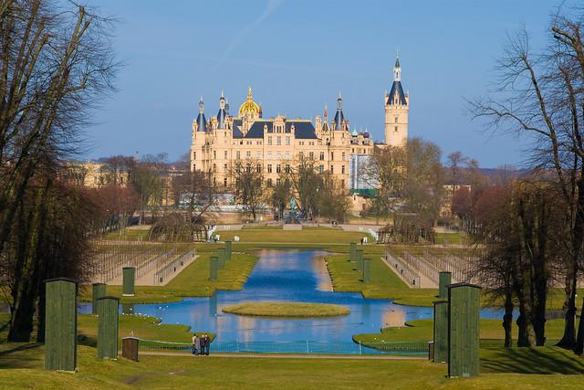 Castillo Schweriner en Alemania