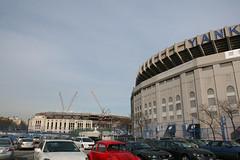 Old and New Yankee Stadium