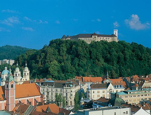 Liubliana, presidida por su castillo