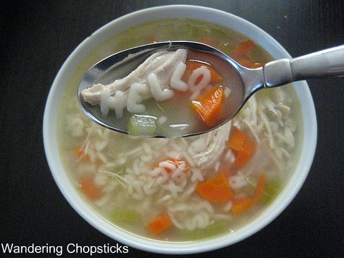 Day 21 Chicken Noodle Soup