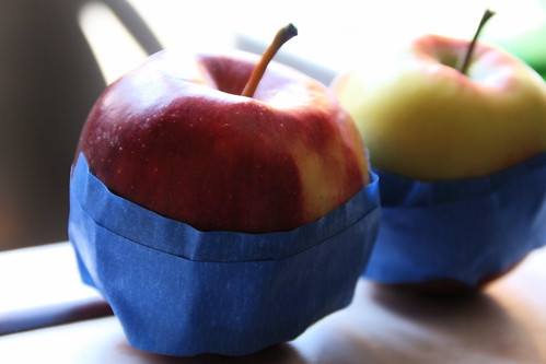 apples wrapped