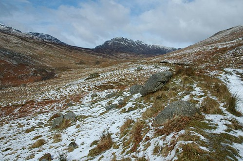 Creag Mac Ranaich at the top of Glen Kendrum