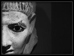 The King's Assasin (iRespondeat) Tags: newyork faces statues marble museums themet themetropolitanmuseumofnewyork