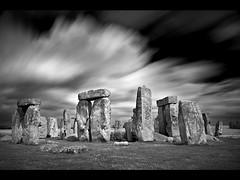 Stonehenge 2 (Gary Newman) Tags: uk longexposure england bw d50 stonehenge