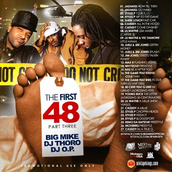 DJ Big Mike, DJ Thoro & DJ OP - The First 48 Pt.3