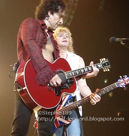 Viv and Sav - Def Leppard - 2008