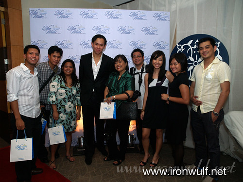 Bloggers with Francis SImisim