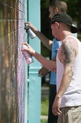 XL Parts Wall (PR!MO) Tags: street art graffiti texas pics houston primo doc stickemup prmo xlpartswall