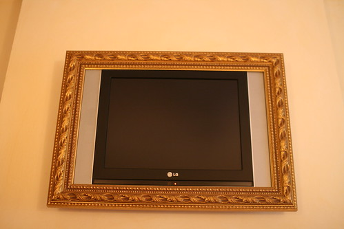 Quite a tv frame