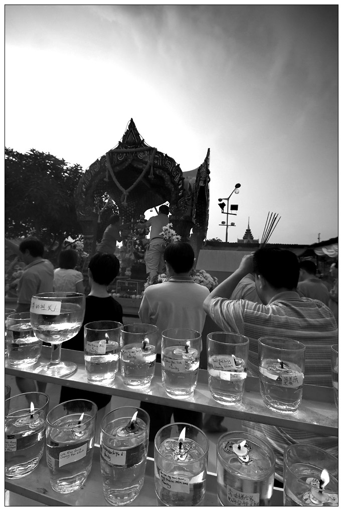 Wat Chetawan Temple on Wesak Day