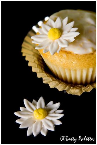 Buddha's Hand Cupcakes