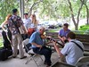 Impromptu jam at Midwest Banjo Camp 2008