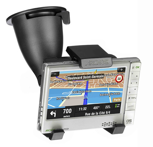Archos 605 wifi GPS