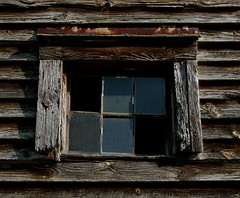 Broken Panes (davidwilliamreed) Tags: county wood old abandoned broken window glass barn georgia hurricane rustic neglected panes jackson weathered shoals