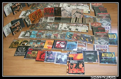 Metallica cds (Jos E.Egurrola/www.metalcry.com) Tags: cliff jason robert saint rock metal james cd sm heavymetal anger lars collection single metallica supernova heavy load discos mis singles kirk burton trujillo jasonnewsted coleccion jaymz hetfield reload cliffburton larsulrich ridethelightning andjusticeforall sinlge hammet masterofpuppets jameshetfield newsted kirkhammet killemall saintanger misdiscos deathmagnetic jazun jasonnewstedjason newstedrobert jasonmirandes