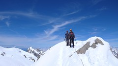 Lachenal ridge (chaletlaforet) Tags: mountaineering chamonix aiguilledumidi cosmiquesarte