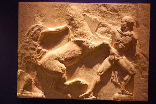Carving from the Elgin Marbles at the British Museum
