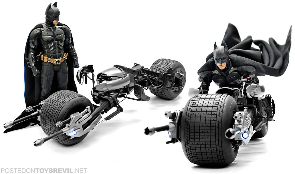 The dark knight batpod toy - photo#5