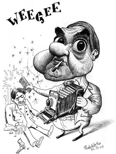 WEEGEE, Arthur Fellig by Morales de los Ríos.
