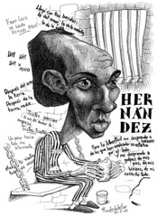 HERNÁNDEZ, Miguel (Morales de los Ríos) Tags: writers caricaturas philosophers caricatures escritores filósofos