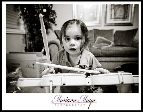 Future World famous drummer...