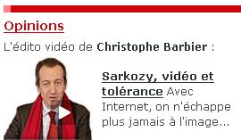 Barbier podcaste sur Sarkozy