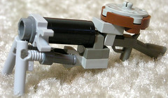 Light Machine Gun (aillery) Tags: war gun lego military great rifle machine steam automatic machines steampunk painparade