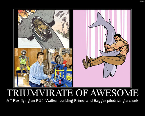 triumvirate of awesome