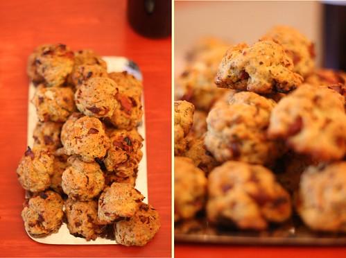 Cookies à la tomate séchée