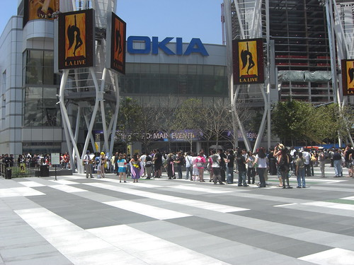 Nokia Theater Line for Shokotan