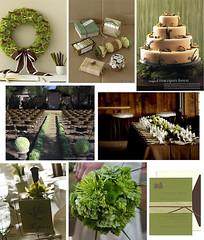 2646591077 0e8e3dc299 m Baú de ideias: Decoração de casamento marrom (chocolate) e outras cores