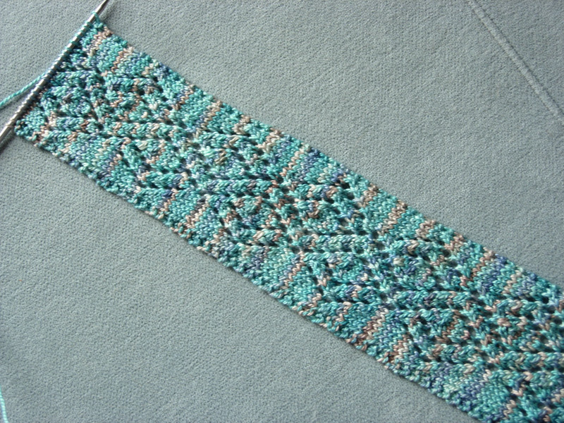 Glacier Diamond Scarf