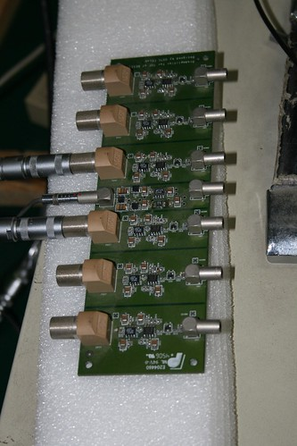 BES III Endcap ToF Preamps (by niklausberger)