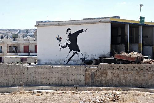 3rd intifada with flowers?