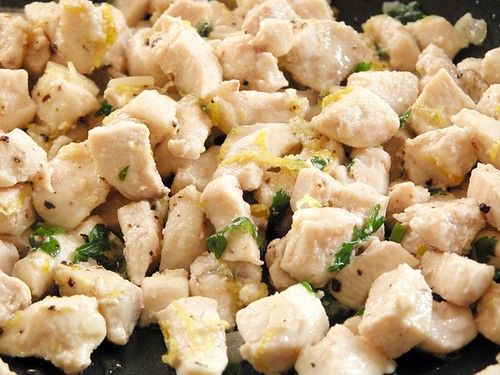 Chicken with lemon & herbs