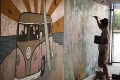 DSC_0836 (Kurt Christensen) Tags: art beach painting mural surf thrust gilgobeach gilgo