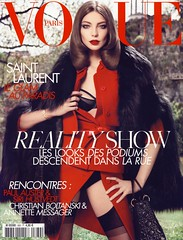 Vogue Paris Aot 2008 (Ze Cali Fairy) Tags: fashion magazine model vogue cover inezvanlamsweerde vinoodhmatadin frenchvogue vogueparis dariawerbowy carineroitfeld tompcheux