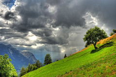 Looking west now... (christianmeichtry) Tags: alps clouds landscape switzerland europe suisse alp wallis hdr valais tatz illgraben platinumphoto diamondclassphotographer flickrdiamond