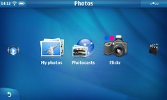 Flickr plugin in Photo Submenu