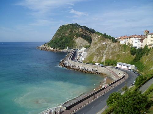 Getaria carretera de la costa