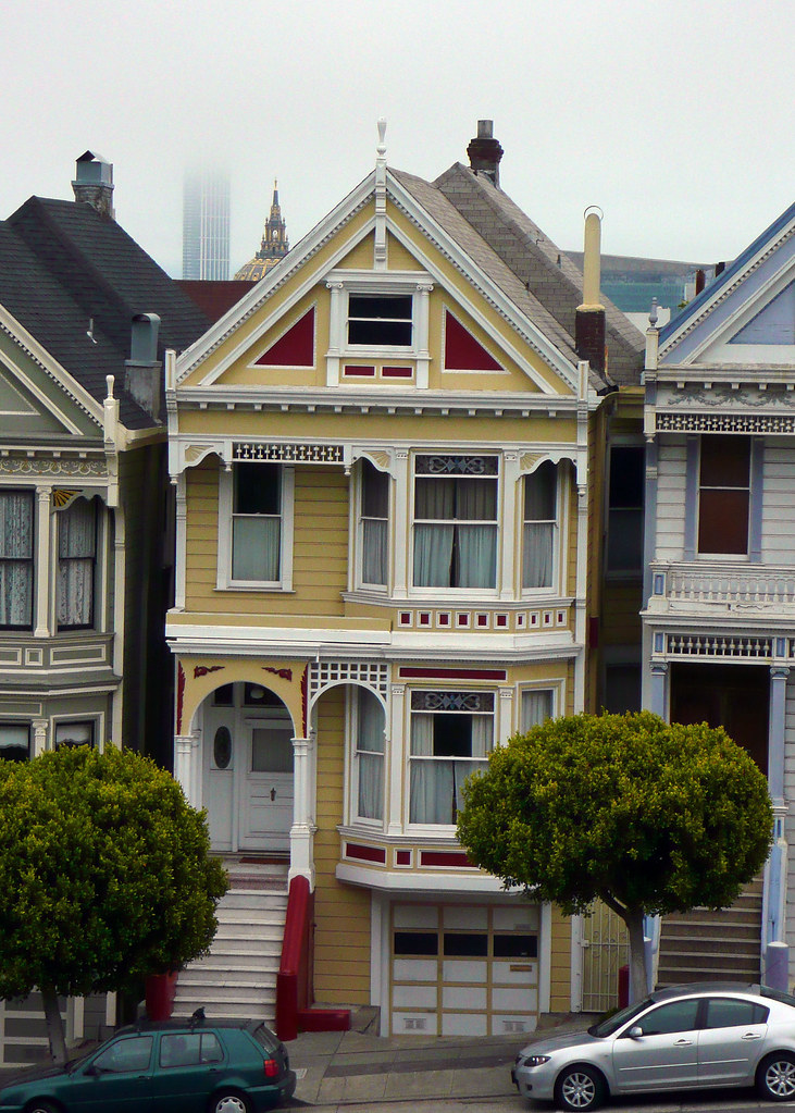 "House from TV sitcom ""Full House"" (kind of)"