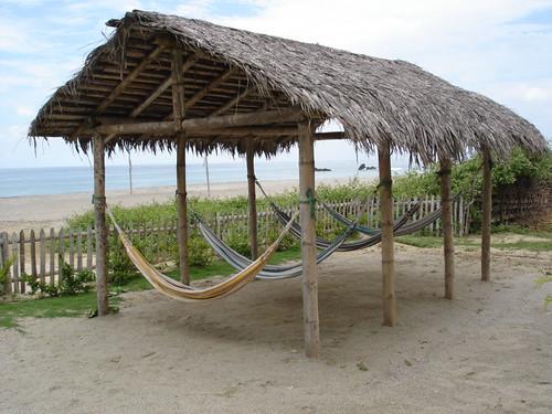 Ecuador each hammocks